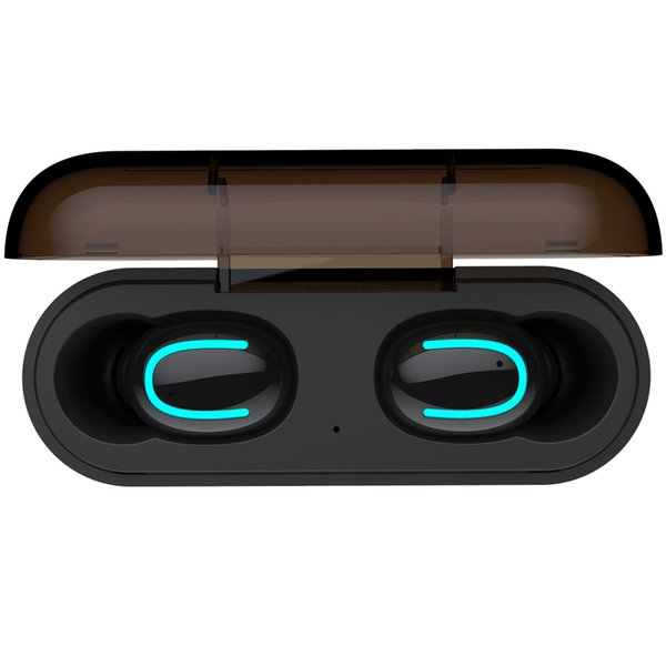 Bluetooth 5 0 earphone tw  wirele   headphone   port  earbud  hbq q32 head et mini gaming cordle   headphone pk i10