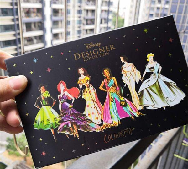 Dropshipping 2018 новая коллекция косметики Colourpop для макияжа 15 цветовых палитр / теней дл