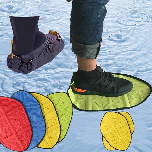 FAROOT Шаг в Носок многоразовые бахилы One Step Бахилы Прочные Автоматическая 4 цвета Ленивые Бахилы фото