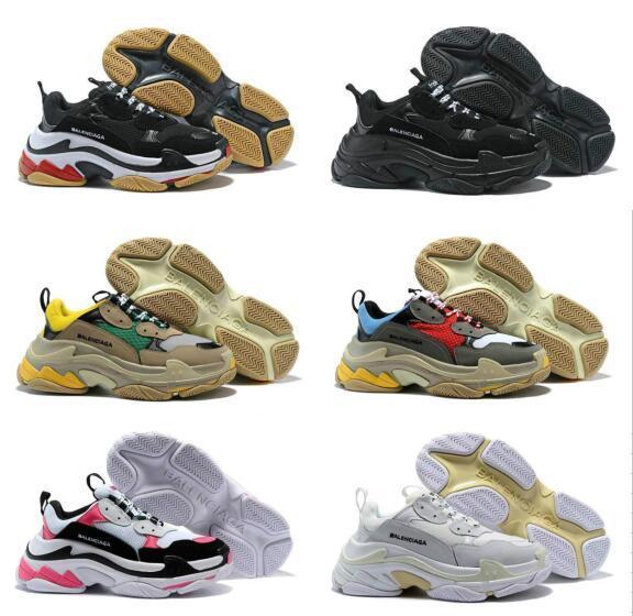 2019 Новый Тройной S 17fw Кроссовки Для Мужчин и Женщин Повседневная Обувь Винтаж Kanye W фото