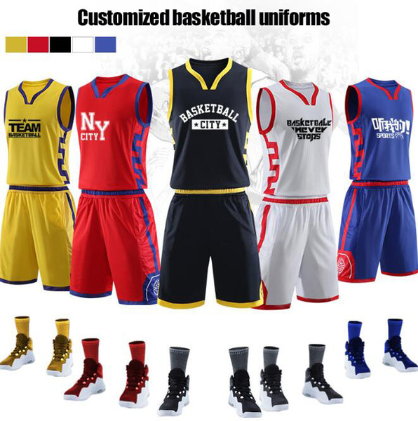 De ign jer ey cu tom new ba ketball wear diy cu tom printing number the great wall element of chine e traditional pattern