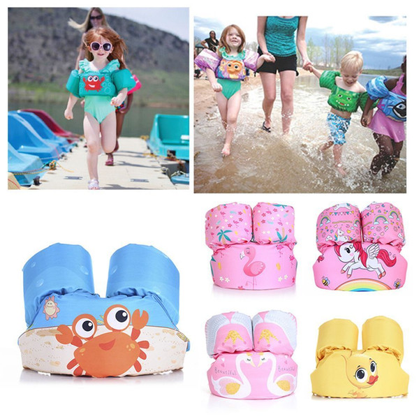 baby swimwear baby puddle jumper kids water sports life jacket life vest encrypted cartoon coated jacket