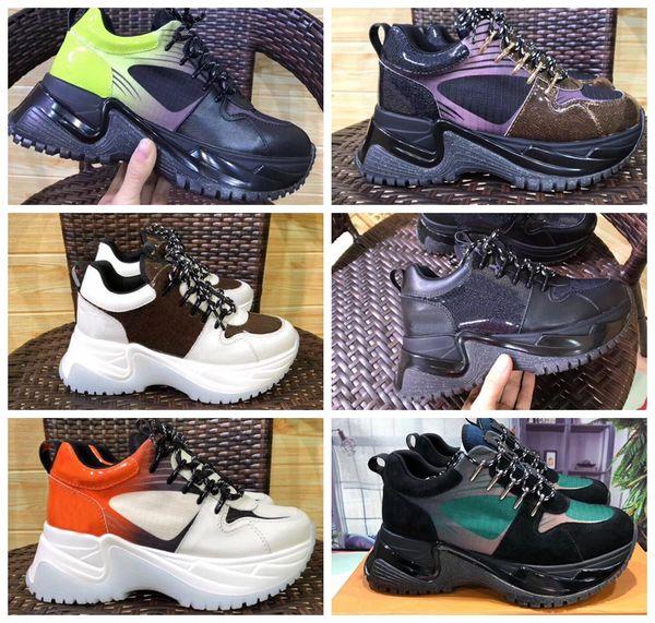 Run Away Pulse Sneaker Дизайнерская Обувь Мужчины Женщины Ретро Низкий Верх, Босоножки, Кро