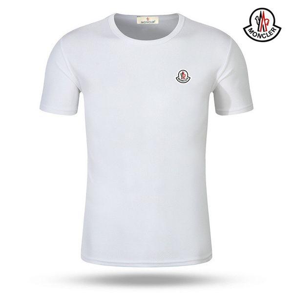 Мужская дизайнер T-Shirt новый мужской высокое качество письма вскользь с коротким рукавом мода мужской дизайнер футболки фото