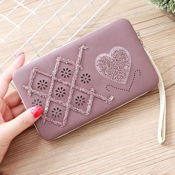 ladylong wallet lunch box wallet evening package mobile phone bag purse handbag gradient color bag rainbow purse clutch purse#30 (467745525) photo