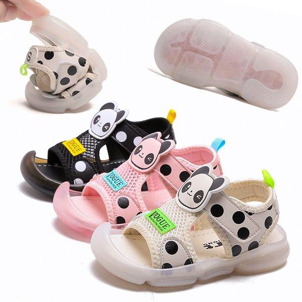 1-6 Years Old Boys Non-slip Sandals Soft Bottom Breathable Children Sandals Tide Summer New Girls Baotou Sandal Toddler Sandal