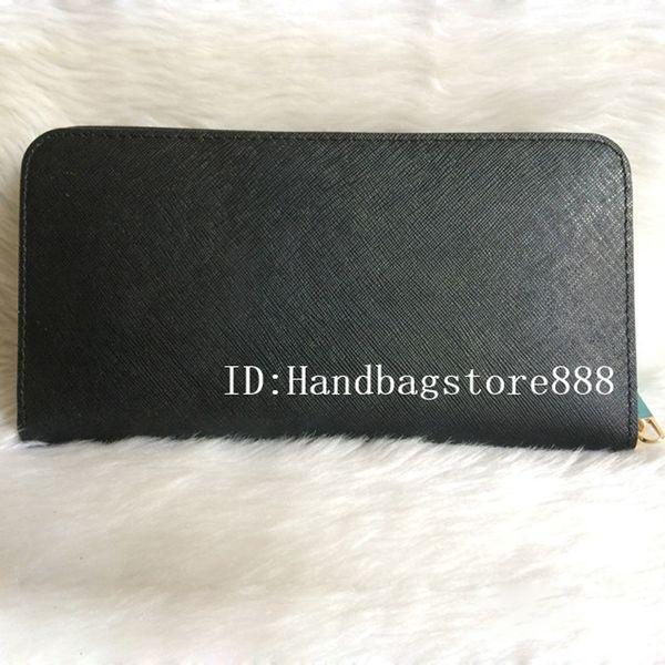 woman genuine leather ladies purse long single zipper wallets cross pattern 008 purse with box card (397100911) photo