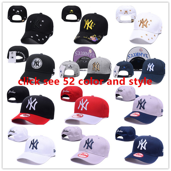 52_color__and__tyle_in__tock_ny_hat__for_men_women_yankee__peaked_cap_ca_quette__port__hip_hop_bone___un_hat