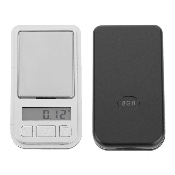 200g/0.01g Mini Precision Digital Scale Electronic Weighing Scale 0.01 Gram Portable Kitchen Scale for Herb Jewelry Diamond Gold