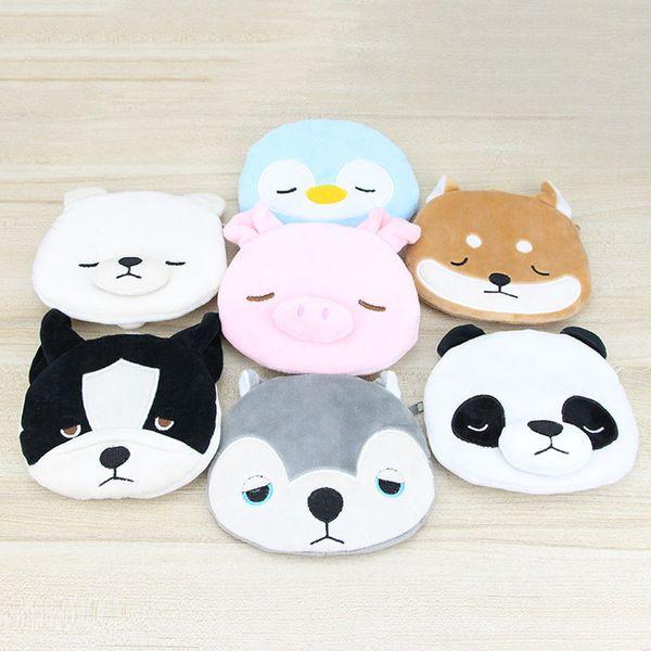 50pcs / lot girl cute coin purse casual coin wallet kid cute plush purse cartoon animal portable bag (539216699) photo