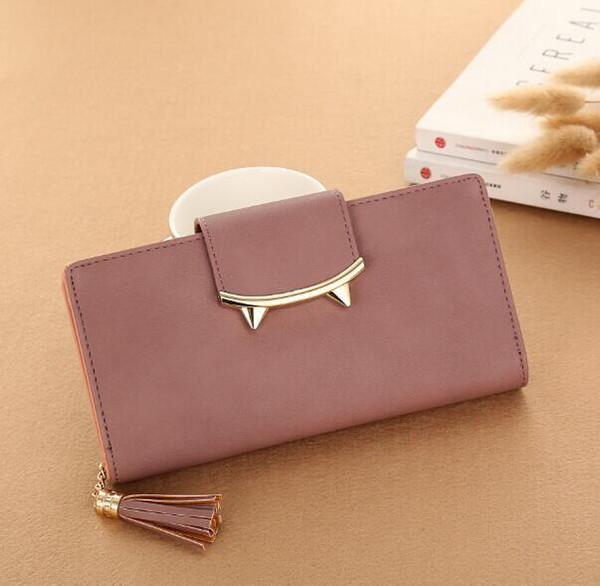 moda feminina coin purse simple new mulheres moda clutch (505257823) photo