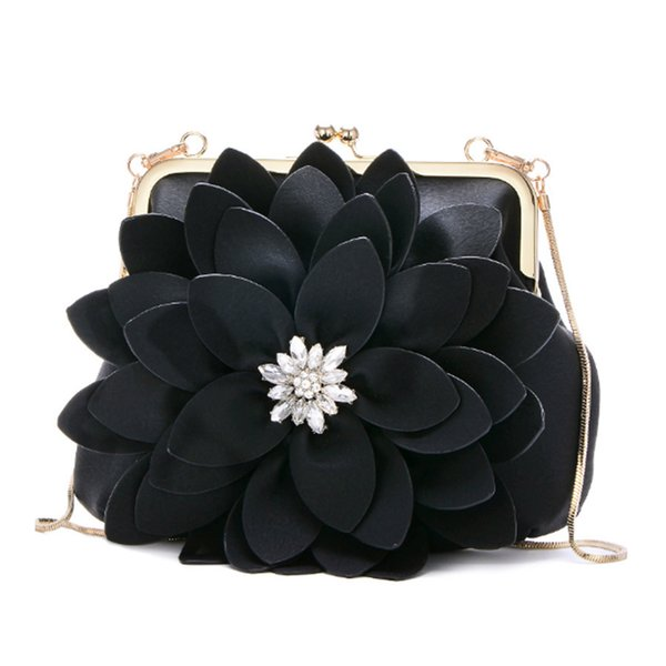 fashion small black shoulder purse leather women purses and handbags elegant lady diamond bag fashion female messenger purses (491798563) photo