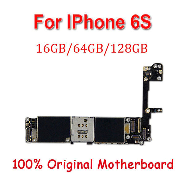 Factory unlocked for iphone 6  6   motherboard with touch id without touch id original unlocked for iphone 6  mainboard mb plate