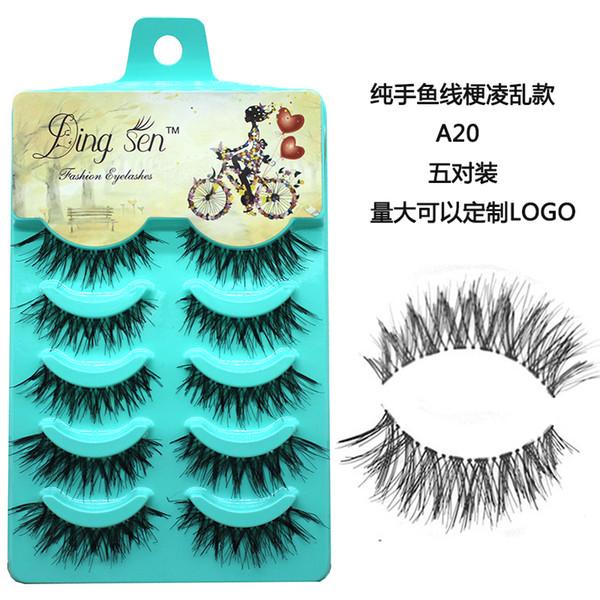 5 пар Мультипак 3D Soft норка волос Ложные Ресницы ручной Wispy Пушистые длинные ресниц фото