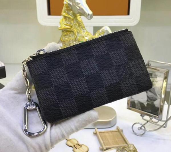 post new classic checkerboard coin purse key case (450561116) photo