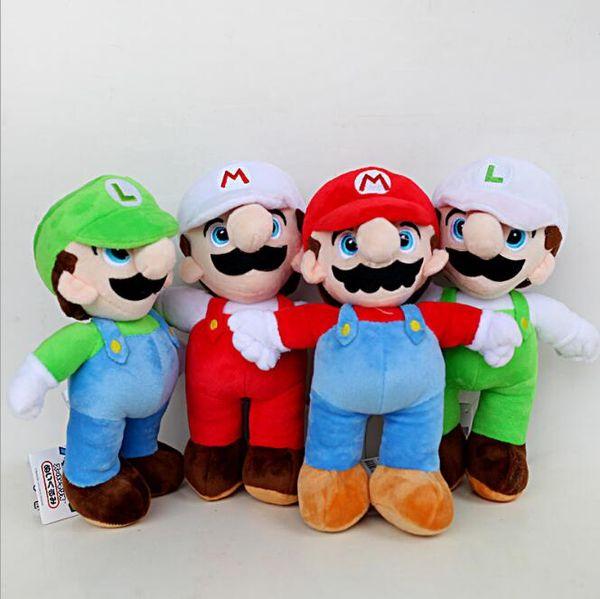 25 см Super Mario Bros плюшевые игрушки Марио и Луиджи мягкие животные плюшевые игрушки Sup фото