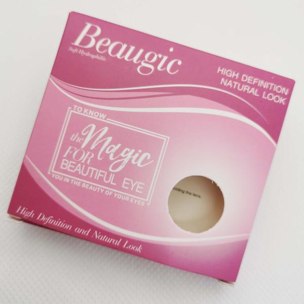Натуральная цветная контактная линза Beaugic Elite фото