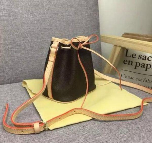 classic version brand shoulder bag minibags designer handbag fashion purse oxidize leather purse real leather nano noe handbag crossbody (489518401) photo