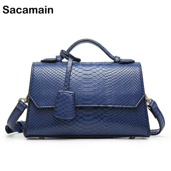 new handbags women bag serpentine chain shoulder bags leather party evening purse snake o bag handles (542668479) photo