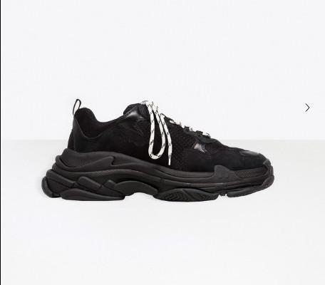 Горячая мужская дизайнерская обувь Tripe-S 17fw кроссовки Tripe S 19SS женщины бежевый черн