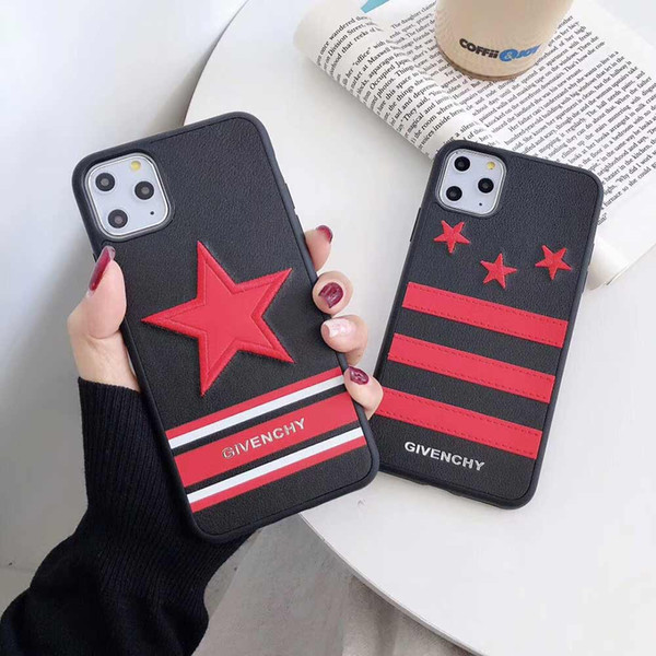 Дизайнер телефона чехол для Iphone 11 Pro Max X XS XS XR MAX 7Plus 7 8 Plus 6P 6sP 6 6s Luxury Phone Case Brand Iphone Case