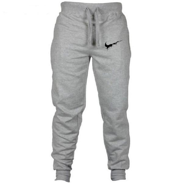 Новые брюки для бега с принтом из хлопка Jogger камуфляжного типа мужские модные шар фото
