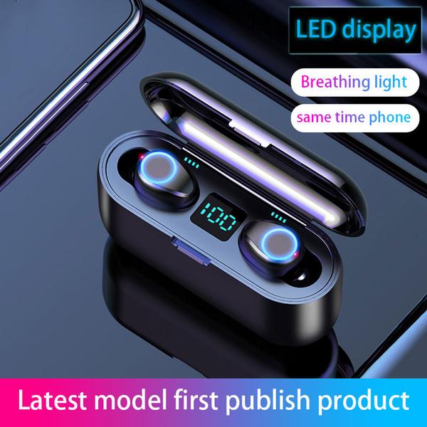 Bluetooth наушники Беспроводные наушники Bluetooth наушники 5,0 Deep Bass Беспроводные наушник фото