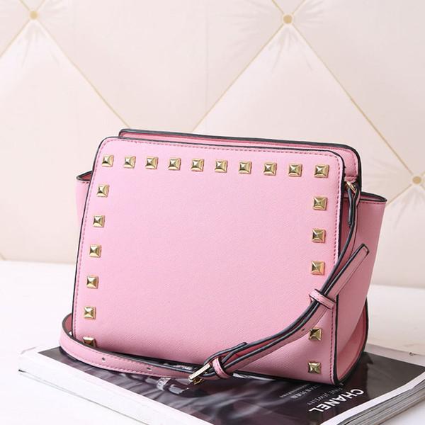 manufacturers wholesale designer women shoulder bag luxury handbags purses rivet cross pattern shoulder bag pu handbags women crossbody/ (527066585) photo