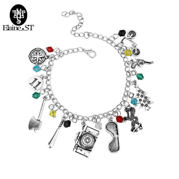 breloque_gros_choses_mode_bracelets_stranger_bangles_crystalglass_perles_pistolet_bracelets,_vélo,_hache_bricolage_bijoux