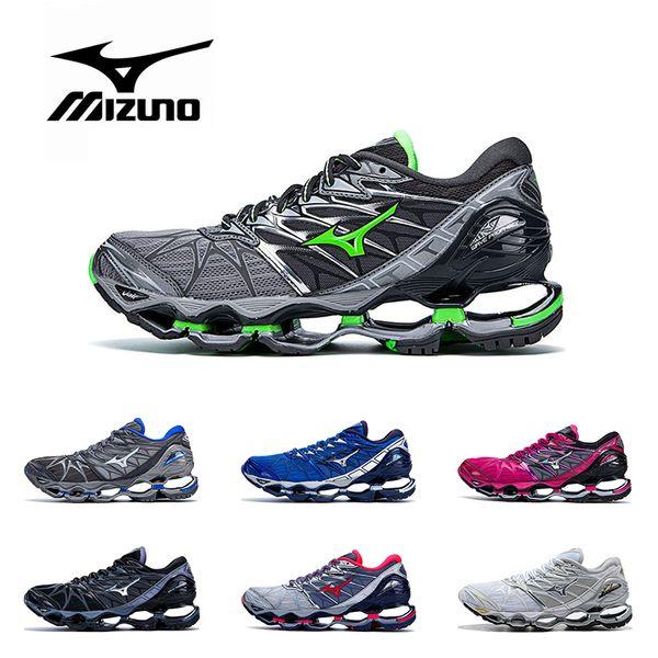 Новый оригинальный MIZUNO WAVE Prophecy 7 профессиональная обувь для мужчин, женщин черный
