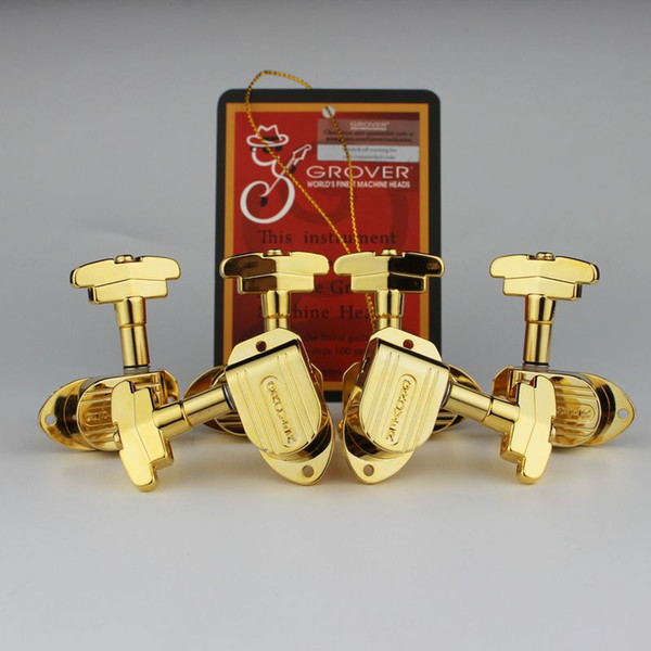 Gold genuine grover 150g imperial 3x3 guitar tuner electric guitar machine head tuner