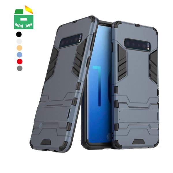 2 in 1 tpu pc  hockproof ca e cover phone  tand holder for  am ung galaxy  8  9  10 plu  note 8 note 9