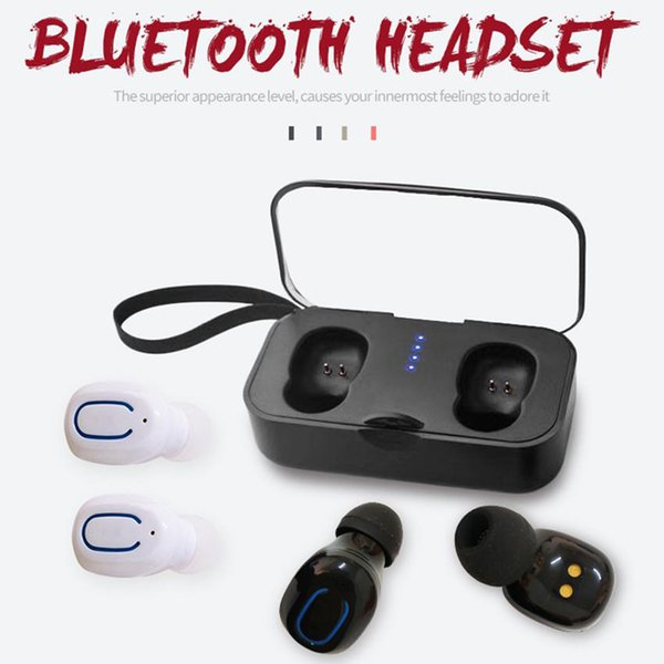 Ti8 bluetooth 5 0 earphone  tw  wirele   headphone  bluetooth earphone hand headphone  port  earbud  head et for  martphone  1pc