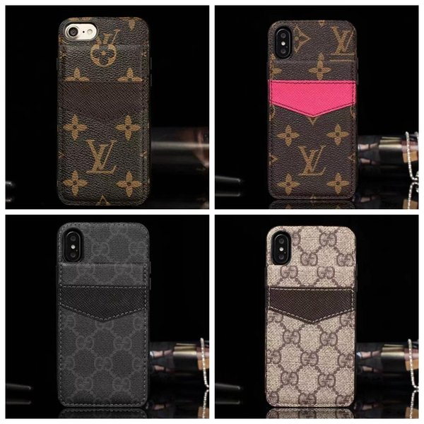 Luxury de igner phone cover for iphone x x  xr x  max 7 7plu  8 8plu  card holder ca e for  am ung  10  10plu   8  9 plu  note8 9 a06