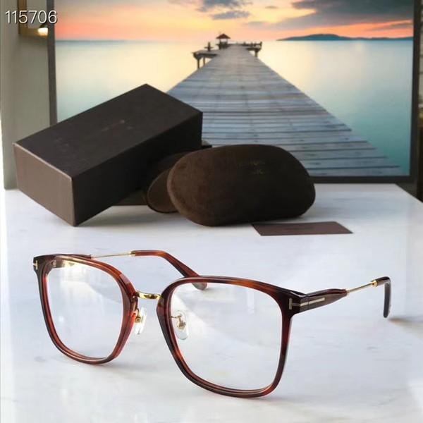 Бесплатная доставка Женщины моды оптические очки ацетат кадр дизайнер очки очки кадр 0824tf очки кадр с коробкой фото