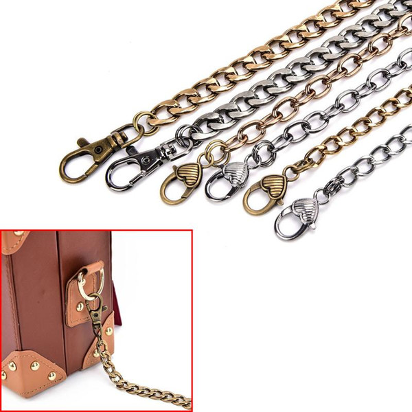 handbag metal chains purse chain with buckles shoulder bags straps handbag handles bag parts & accessories (530216774) photo