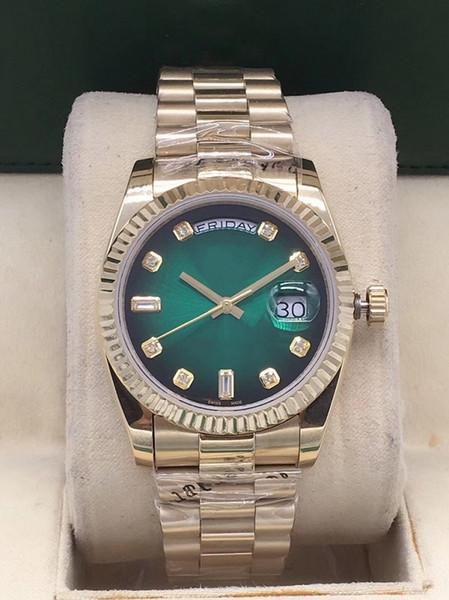2019 new luxury daydate men 039 watch automatic mechanical movement men 039 watch apphire folding buckle men 039 3 tyle brand wat