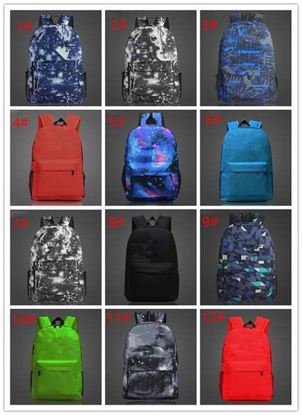 12 de ign fortnite battle royale chool bag noctilucou backpack tudent houlder bag luminou backpack outdoor bag