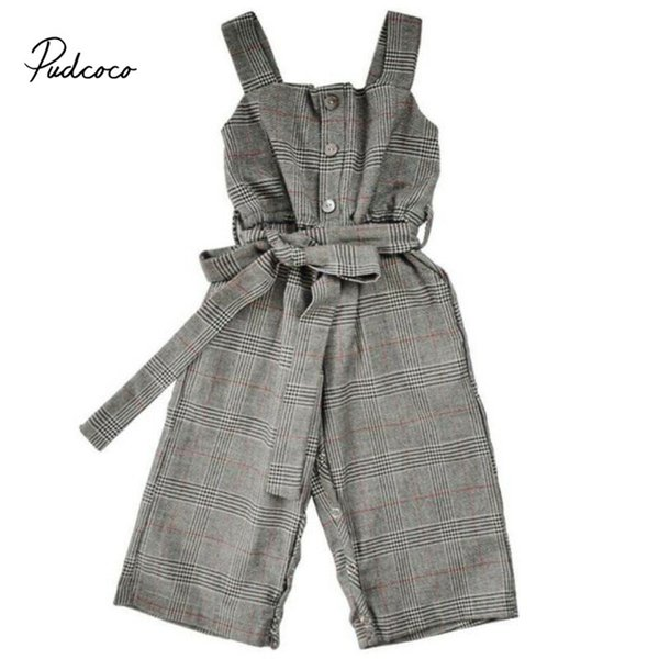 pudcoco romper summer toddler kids baby girl stripe romper suspender jumpsuit pants kids sleeveless fashion playsuit