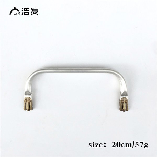 haofa 10pcs/lot 20cm metal bag frame,diy bag handles accessories clutch metal frames purse clasp (457780658) photo