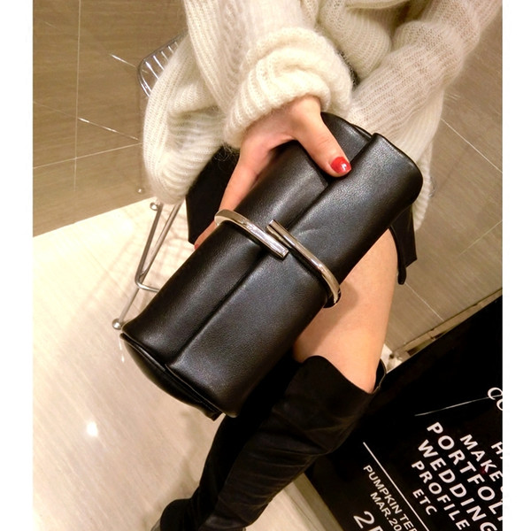 new new woman clutches crossbody purse bag women small leather messenger bags female shoulder bags mini casual clutch purse bag (492128962) photo