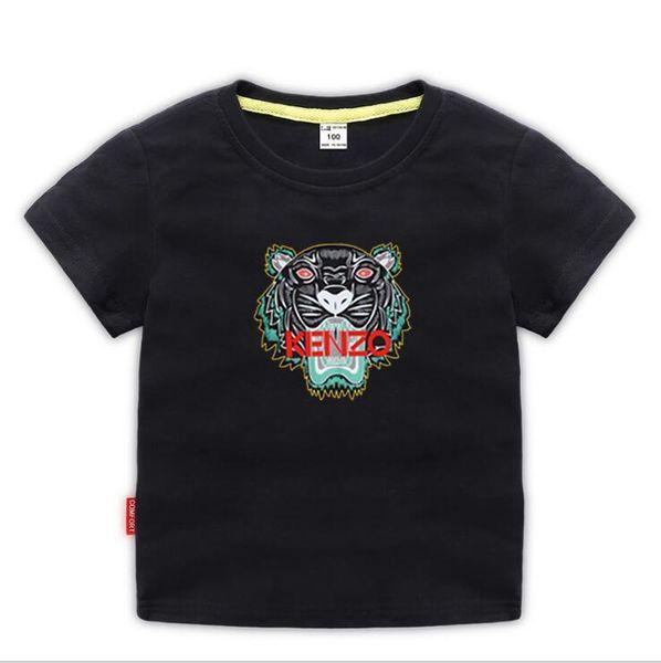 Kids Designer Clothes Girl Baby Boy Fashion Print Cotton Clothes Designer Mens Designer T-Shirt Breathable Fashion Brand Luxury 2-8T