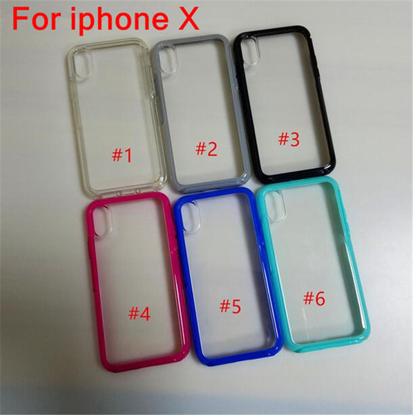 Shockproof tran parent ca e for iphone x  xr x  max 6 6  plu  8 7  ymmetry  erie  tpu ca e clear back cover anti drop cell phone  hell