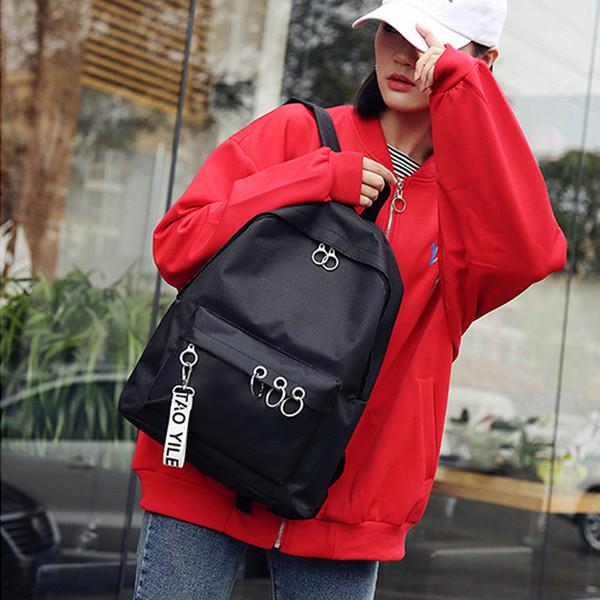 au stock canvas backpack men womens school travel rucksack lapshoulder bag