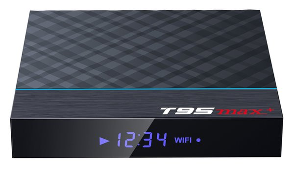 50шт T95max+ на заказ Amlogic S905X3 Quad core 4K Smart Android9. 0 TV Box 2GB / 16GB 4GB / 32GB фото
