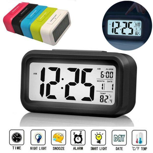 Горячие продажи ЖК-цифровой повтор электронный будильник для детей электронный будильник подсветка ночного освещения Управление цифровым дисплеем фото