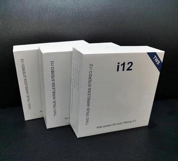 1 кусок!! i12 V5.0 TWS Беспроводные наушники с всплывающим окном Бинауральный вызов Сен