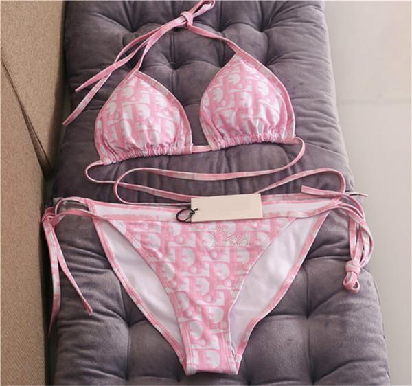 2020 Lady Summer Beach Sexy Bikini Underwear 23 Pieces Swimwear Womens Swimsuit Swimming Bathing Clothes Swimsuits Knot