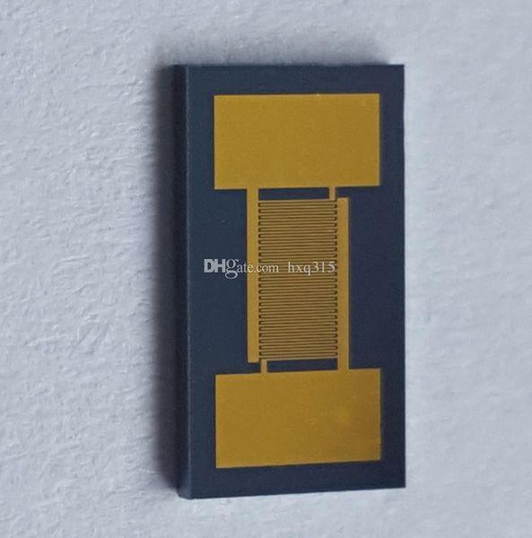 20um Monocrystalline Silicon Interdigitated Gold Electrodes IDE Interdigital Capacitor High Precision Sensor Chip Sputter MEMS (4mm-7mm)