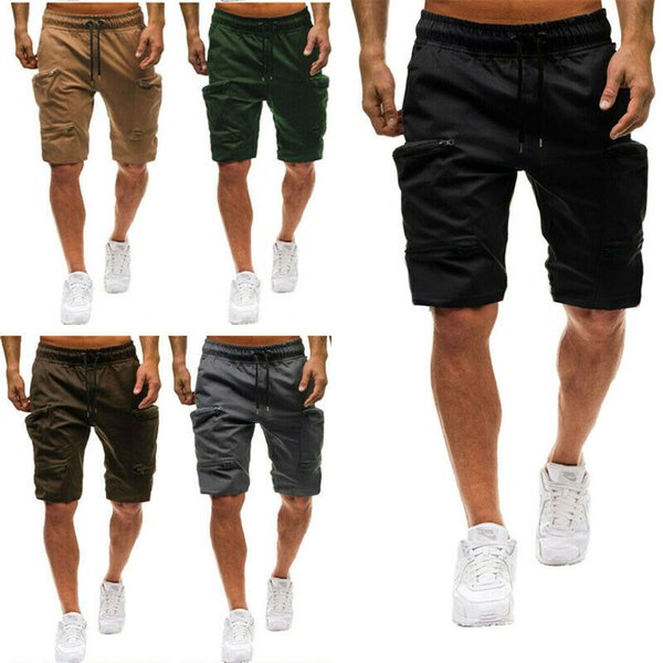 Тяжеловес бегунов 2019 клуб Профи грузов брюки для мужчин пот военным грузом лето свободные карманы свободного покроя брюки фото